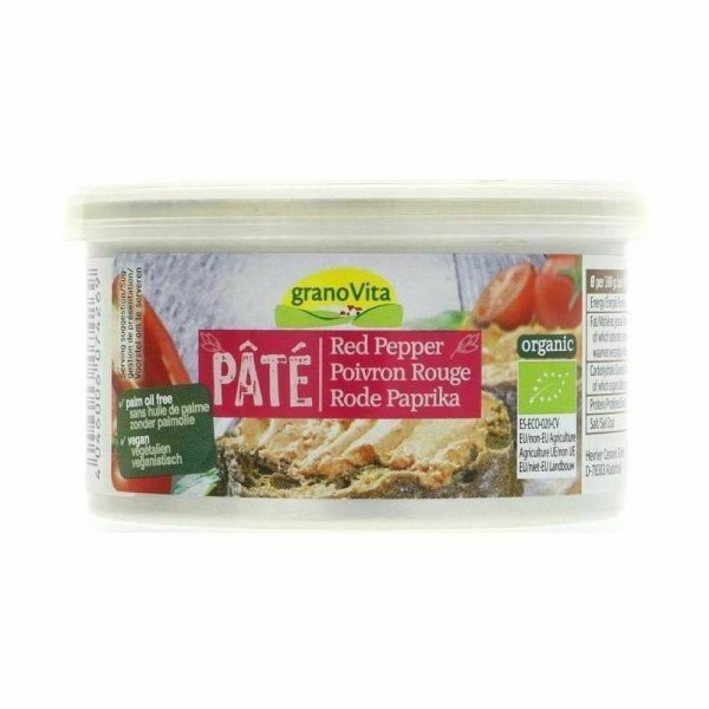 Grano Vita Red Pepper Pate 125g