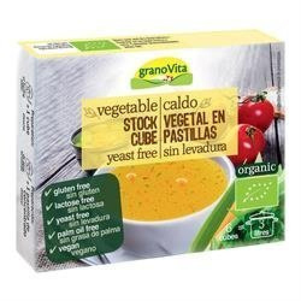 Grano Vita Vegetable Stock Cubes Yeast Free 66g