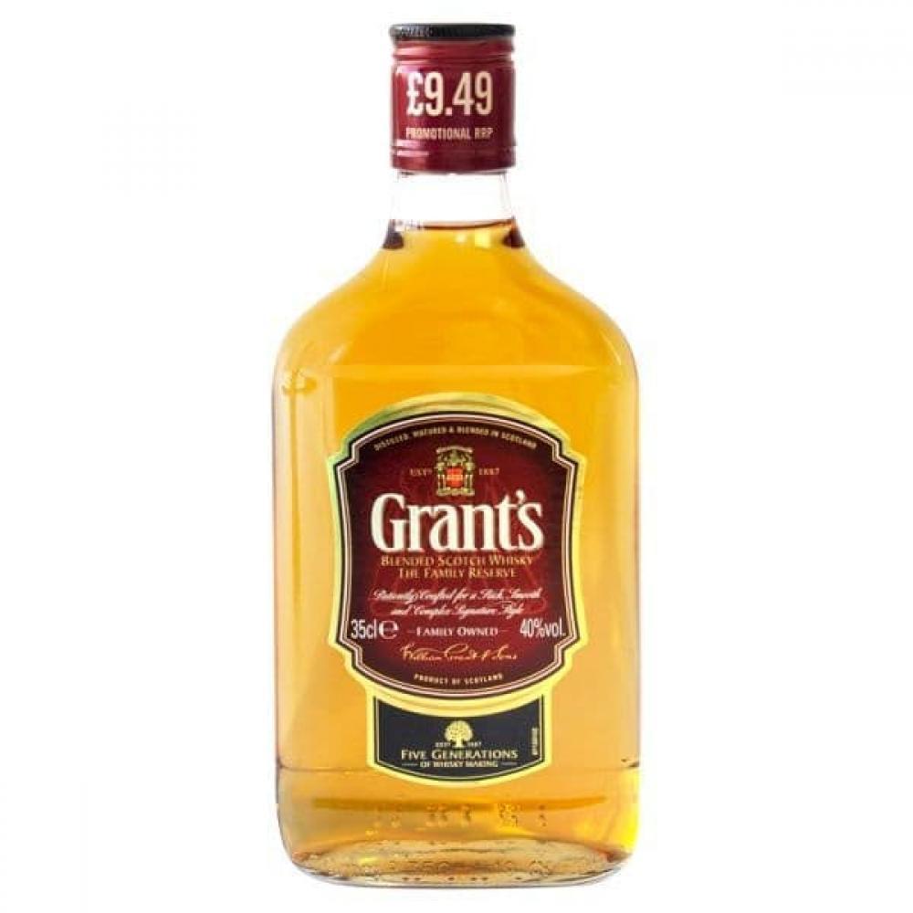 Grants Blended Scotch Whiskey 350ml