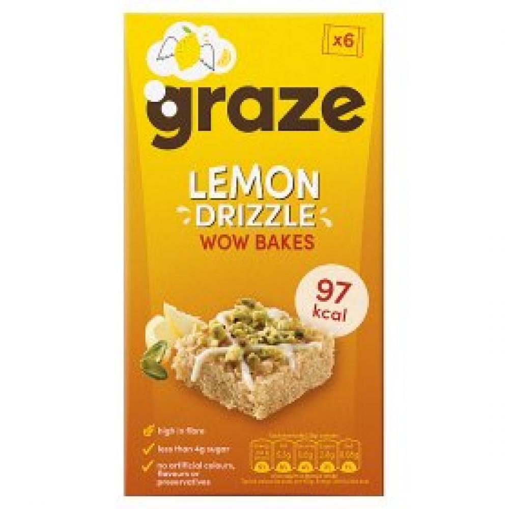 Graze Lemon Drizzle Wow Bakes 120 g