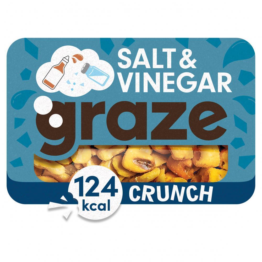 Graze Salt and Vinegar Crunch 28g