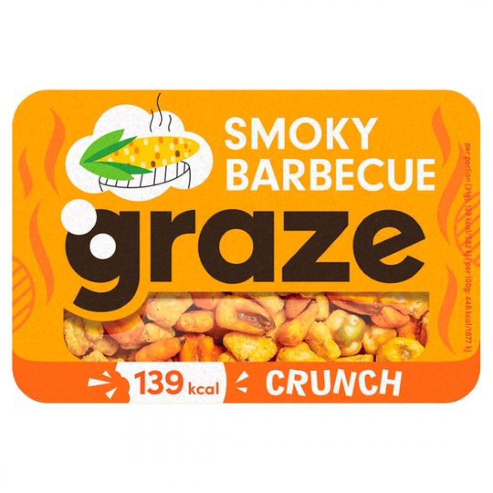 Graze Smoky Barbecue Crunch 31g