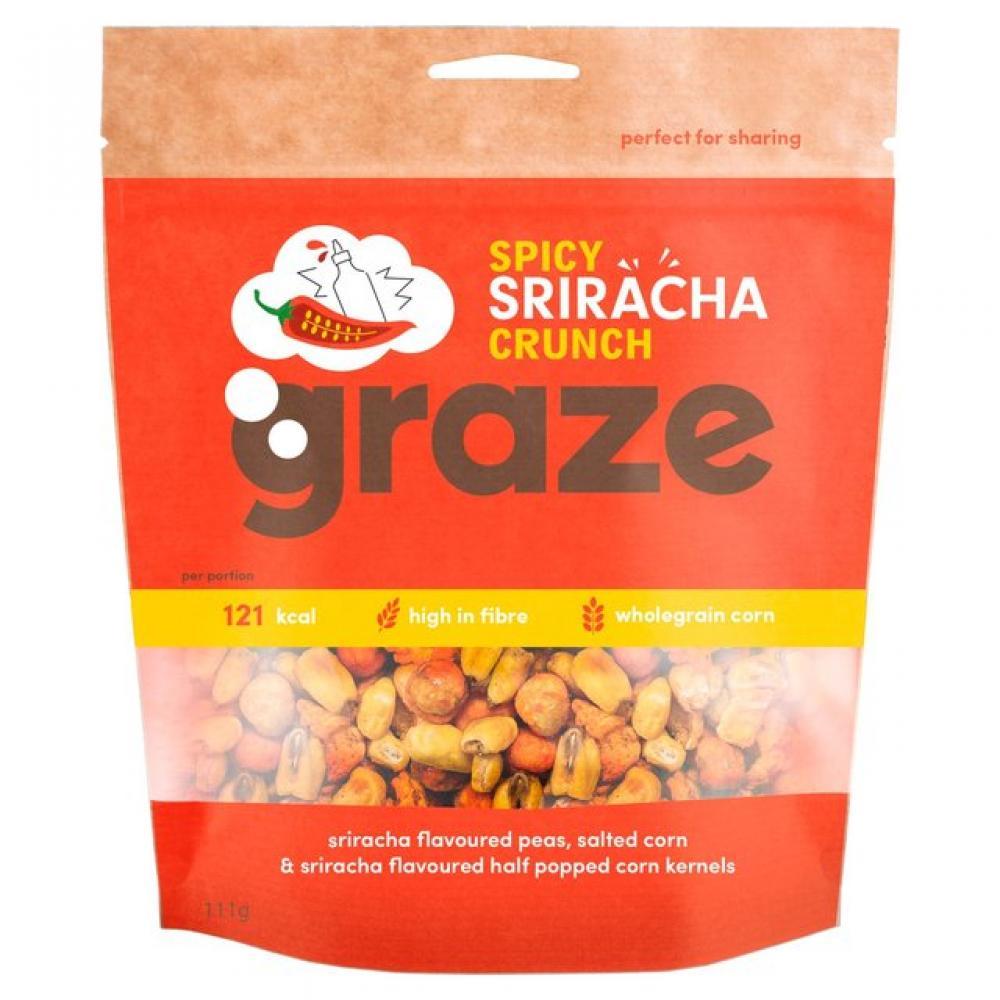 Graze Spicy Sriracha Crunch 111g