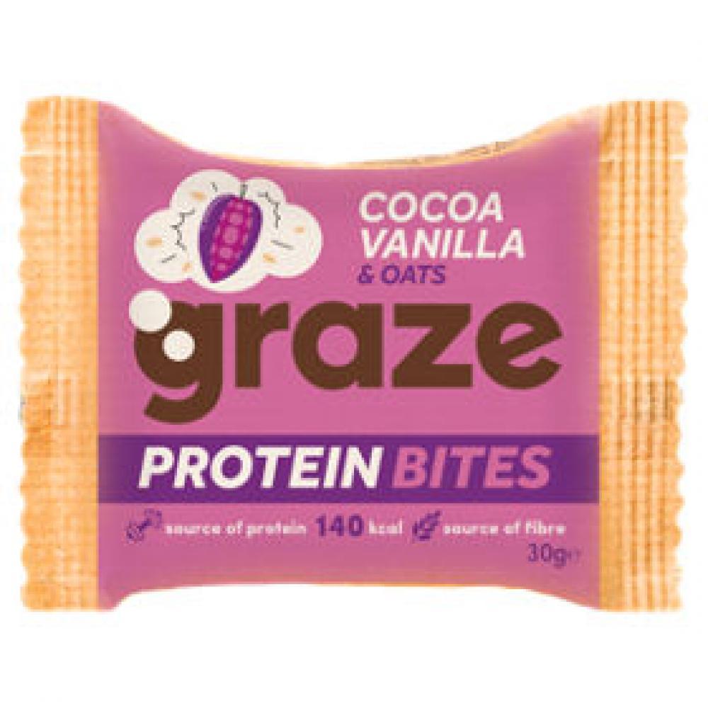 Graze Vanilla And Oats Protein Bites 30g