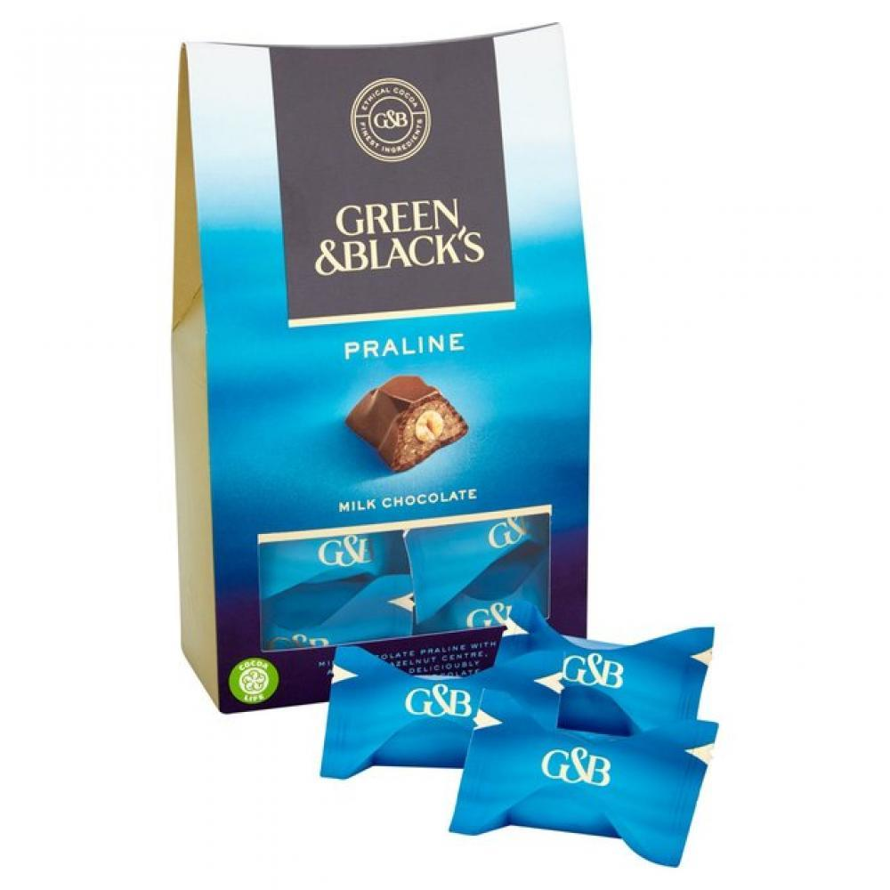Green and Blacks Milk Chocolate Praline 158g