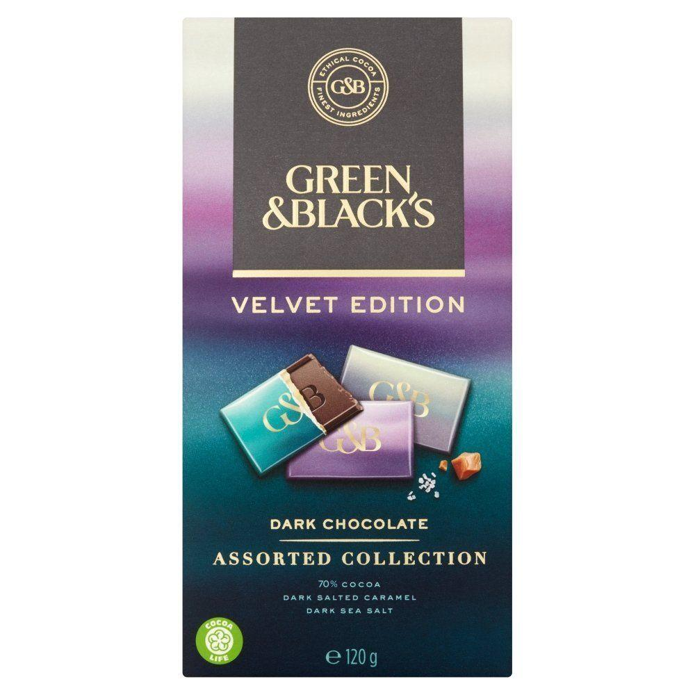 Green and Blacks Velvet Edition Dark Chocolate Assorted Collection 120g