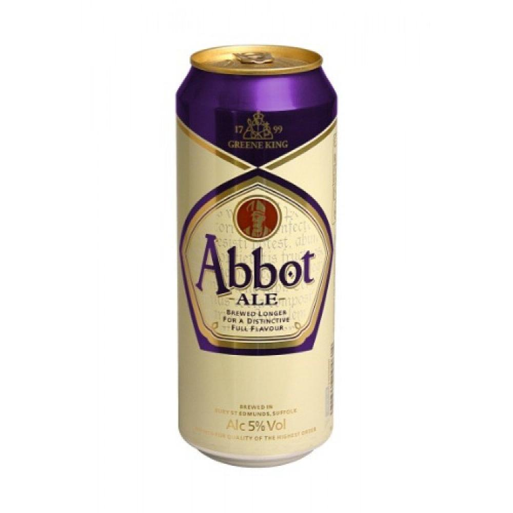 Green King Abbot Ale Can 500ml