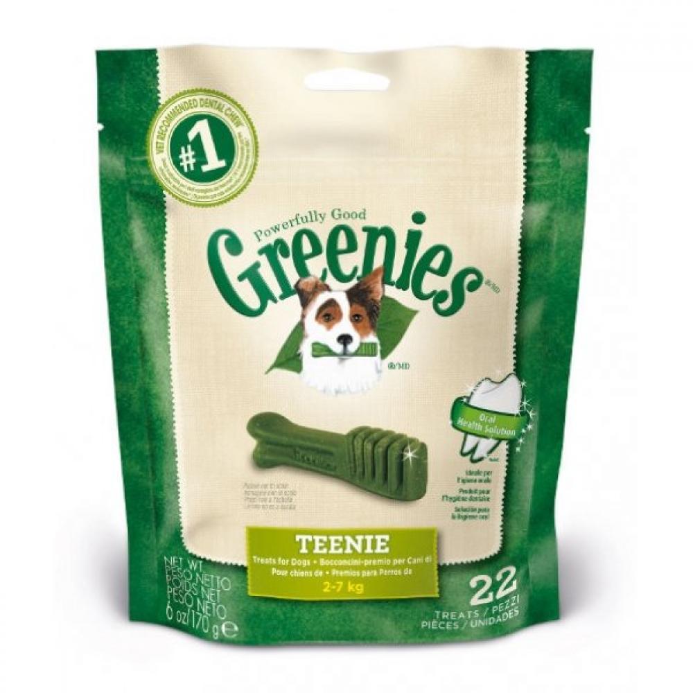 WEEKLY DEAL  Greenies Dental Treats Teenie For Dogs 2-7Kg 170g