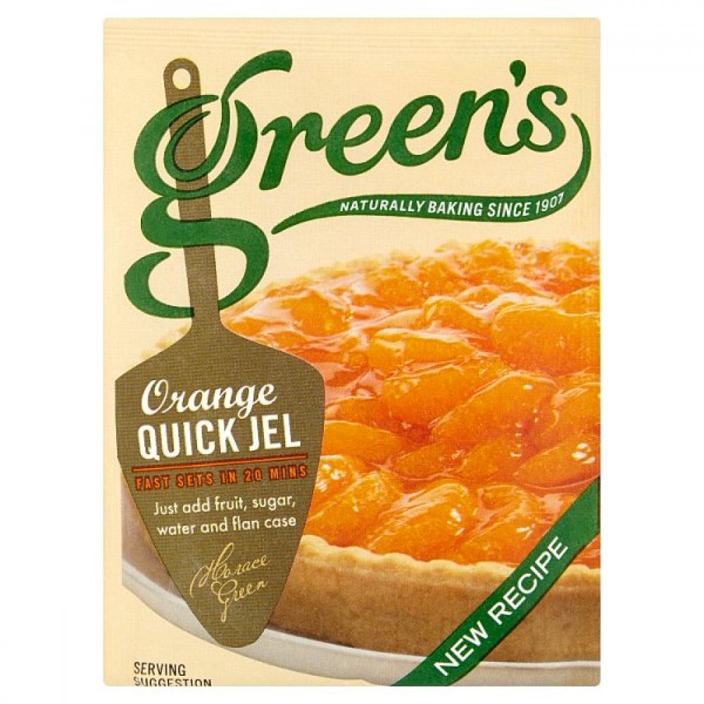Greens Orange Quick Jel Sachet 35g