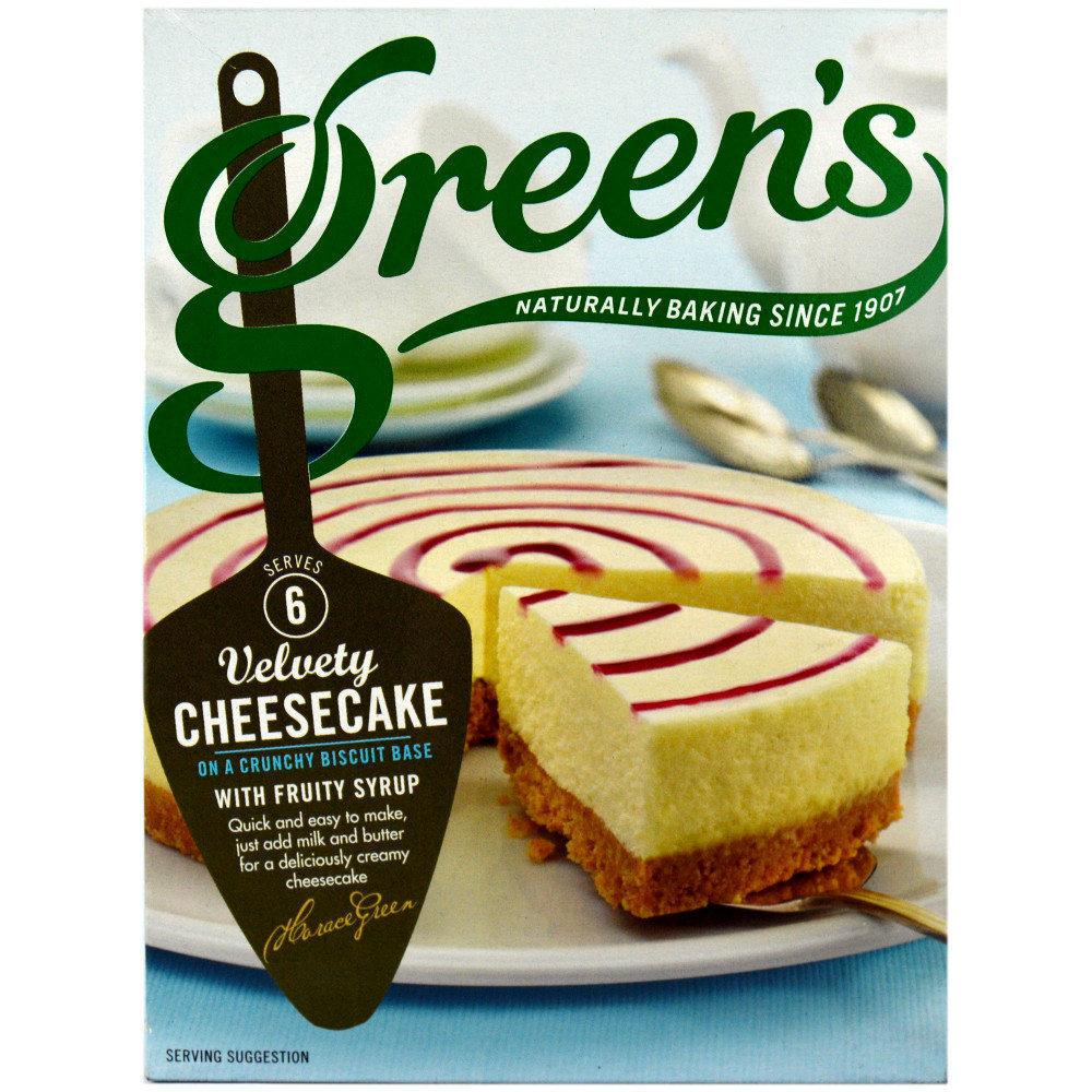 Greens Velvety Cheesecake Mix 295g