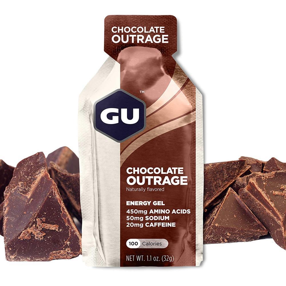 GU Energy Gel Chocolate Outrage 32 g