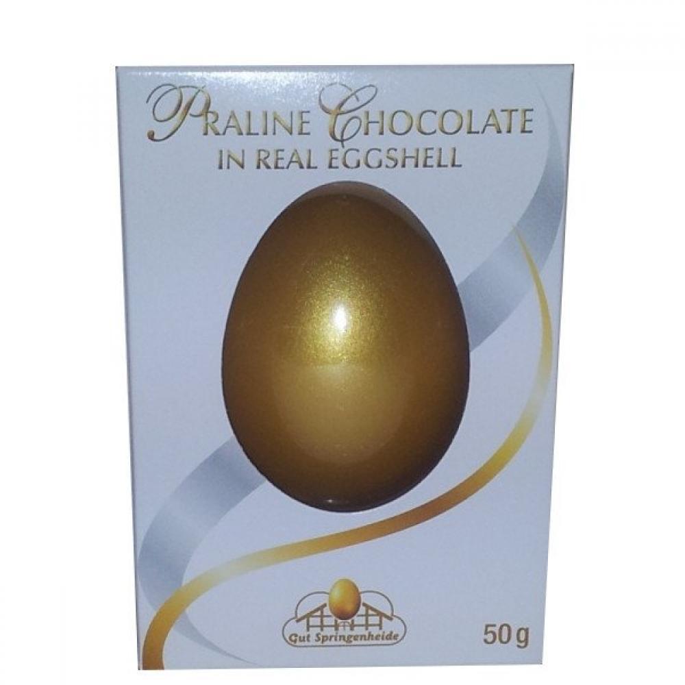Gut Springenheide Praline Chocolate in Real Egg Shell 50g