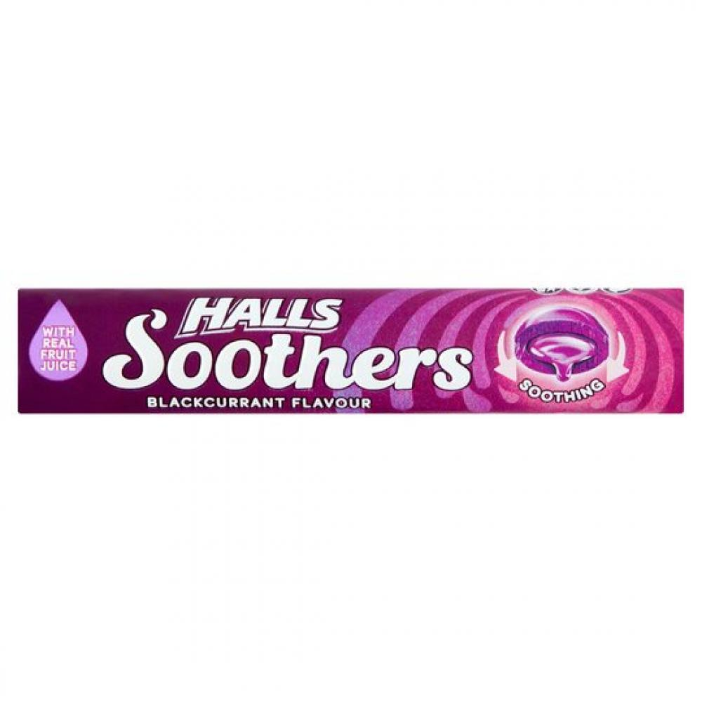 Halls Soothers Blackcurrant Flavour 45g