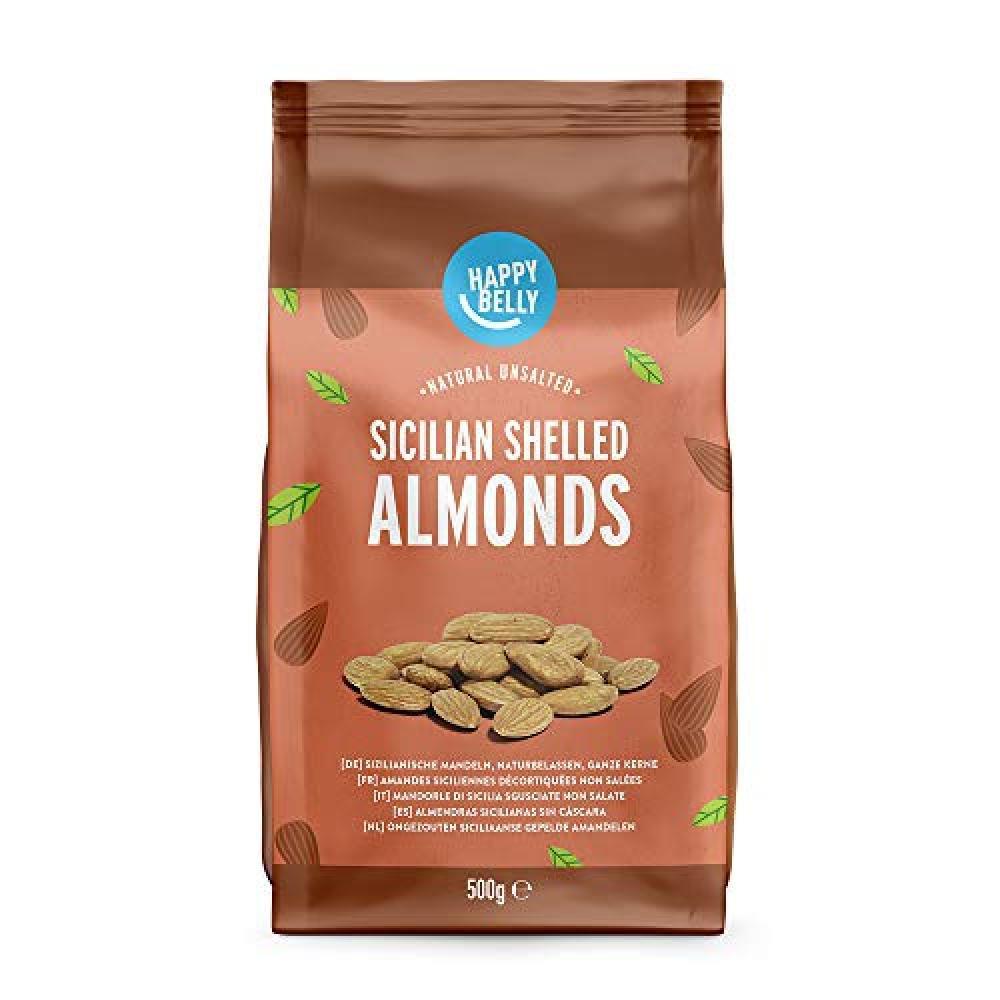 Happy Belly Sicilian Shelled Almonds 500g