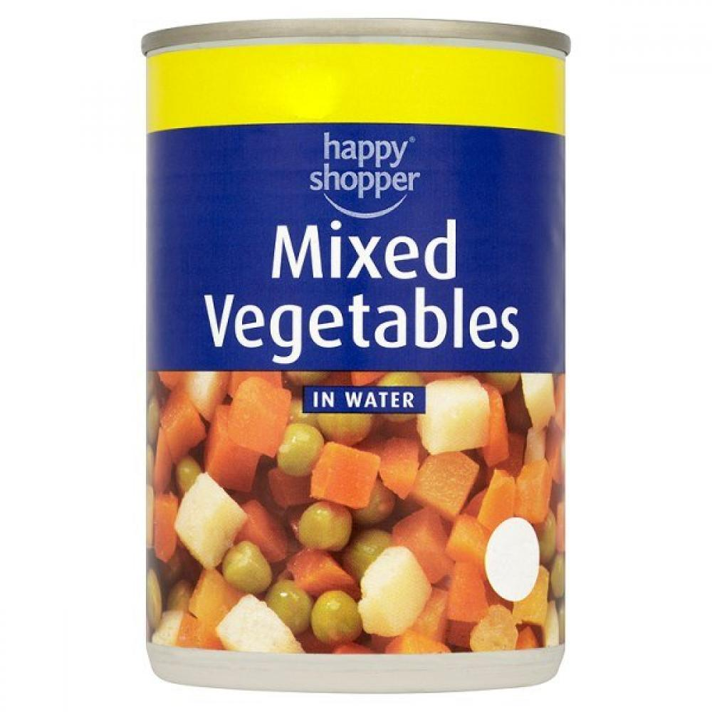 Happy Shopper Mixed Vegetables In Water 300g