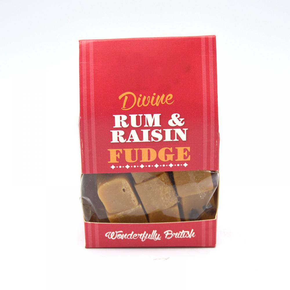 De Identified Rum and Raisin Fudge 150g