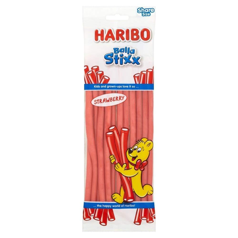 Haribo Balla Stixx Strawberry Sweets 160g