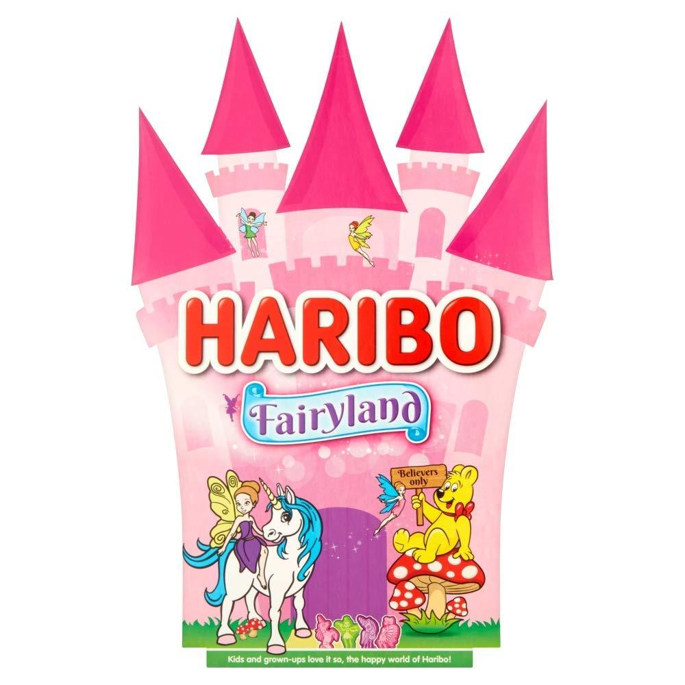 Haribo Fairyland Strawberry Sweets Unicorn Gift Box 250g