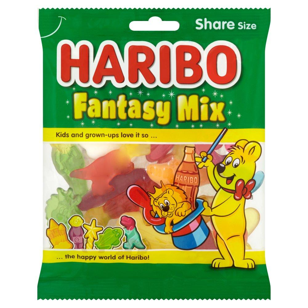 Haribo Fruit Flavour and Sweet Foam Gum 140g