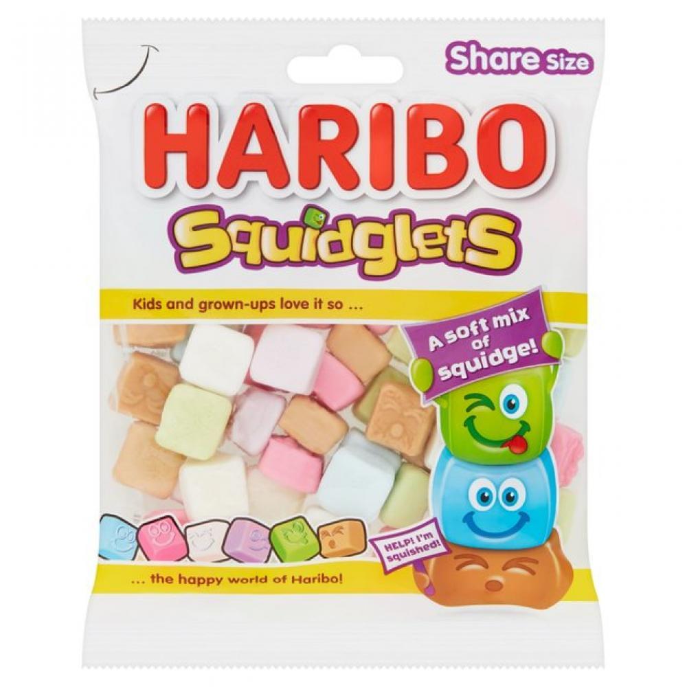 Haribo Squidglets Soft Fruit Sweets 160g