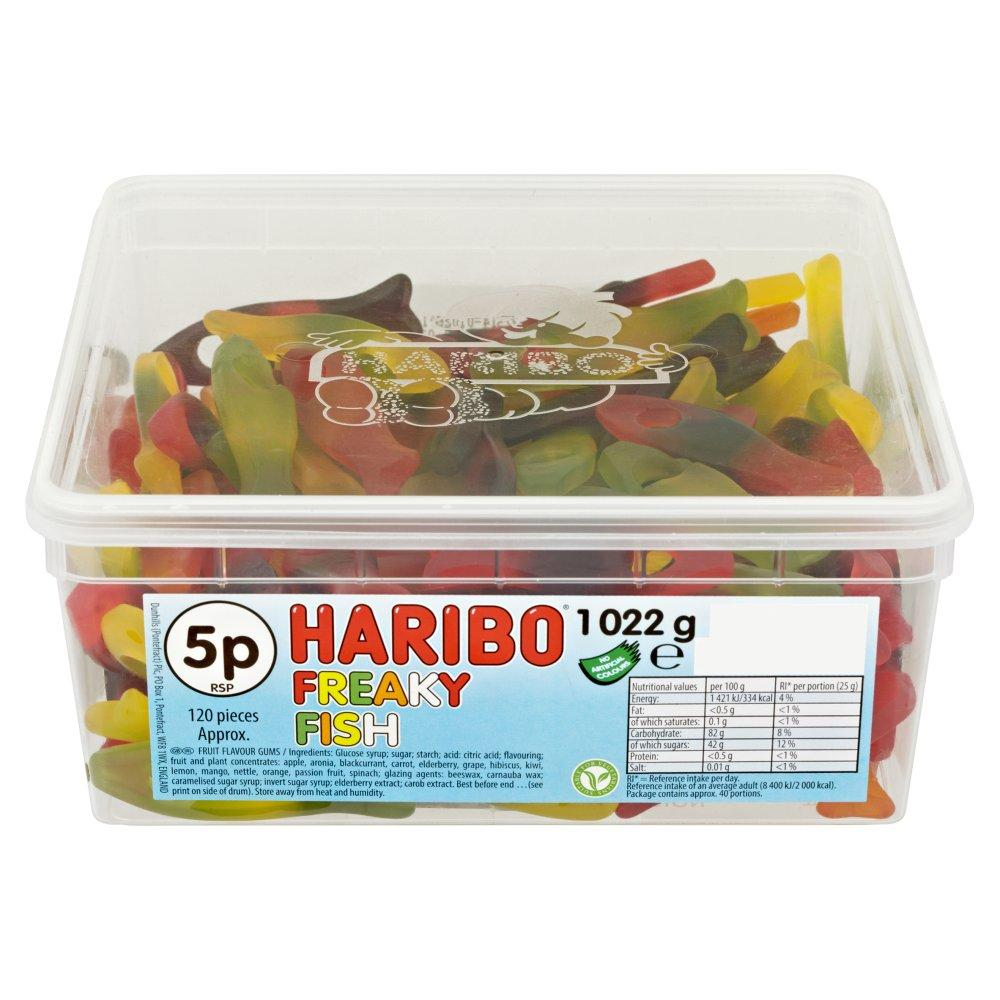 Haribo Tub Freaky Fish 1022g
