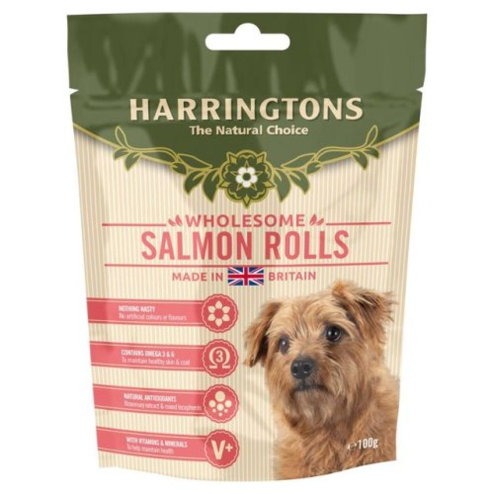 Harringtons Salmon Rolls 100g