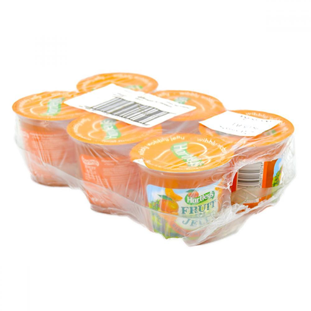 CASE PRICE  Hartleys Orange Flavour Jelly 6 x 120g