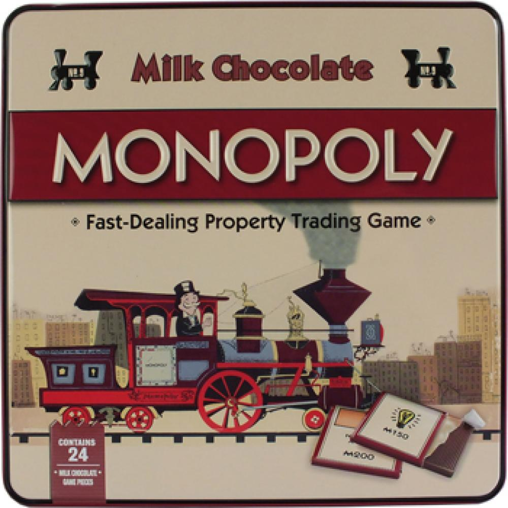Hasbro Milk Chocolate Monopoly