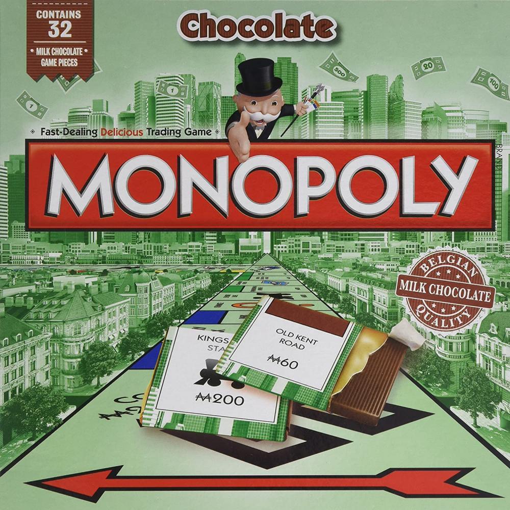 Hasbro Small Milk Chocolate Monopoly 90g