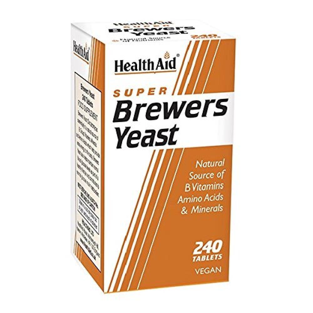 Health Aid Brewers Yeast 240 Tablets