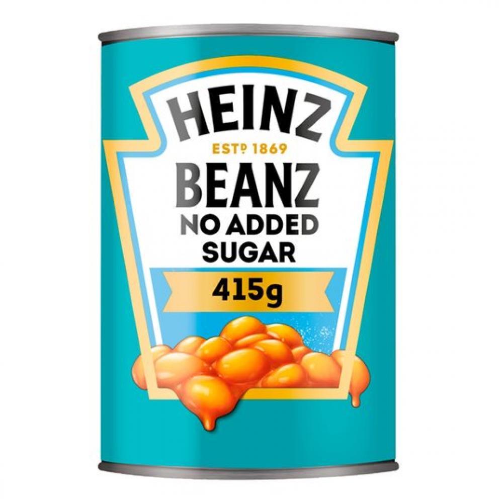 Heinz Beanz No Added Sugar 415g