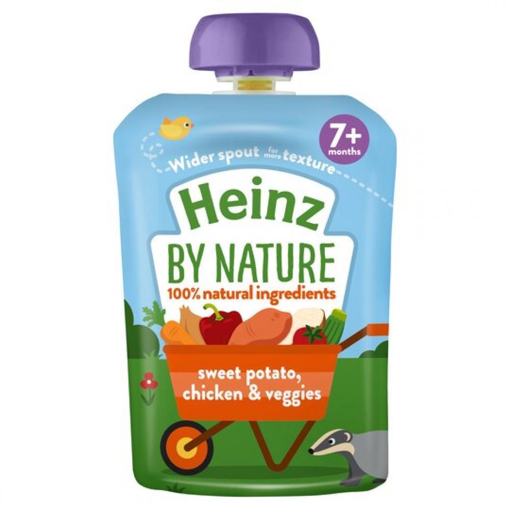 Heinz By Nature Sweet Potato Chicken and Veggies 130g