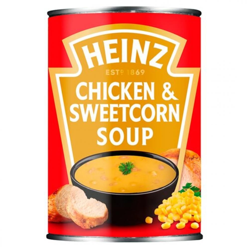 Heinz Chicken and Sweetcorn Soup 400g