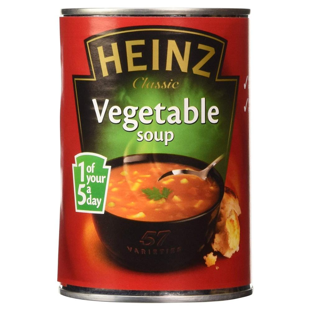 Heinz Classic Vegetable Soup 400 g Damaged