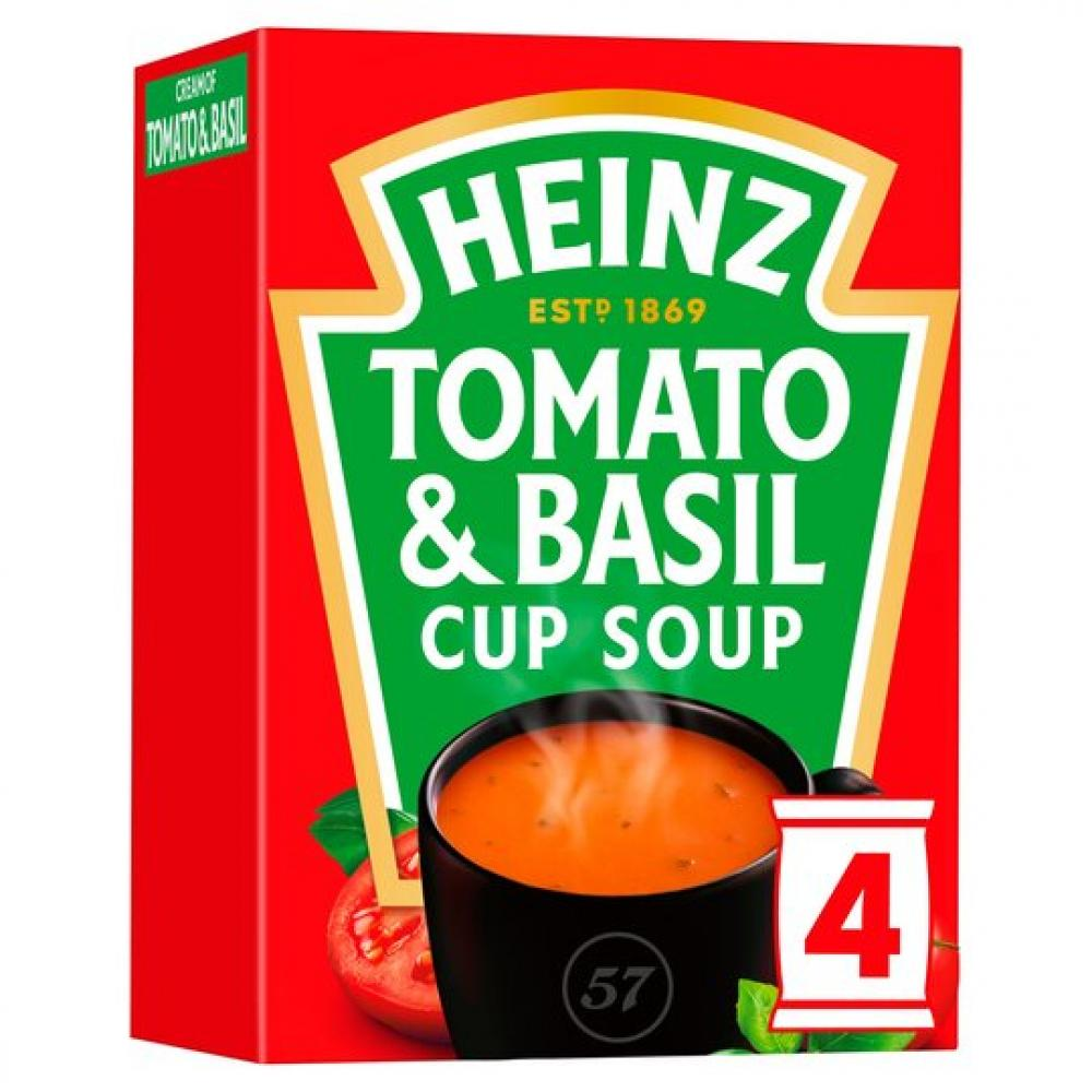 Heinz Cream Of Tomato and Basil Cup Soup 88g