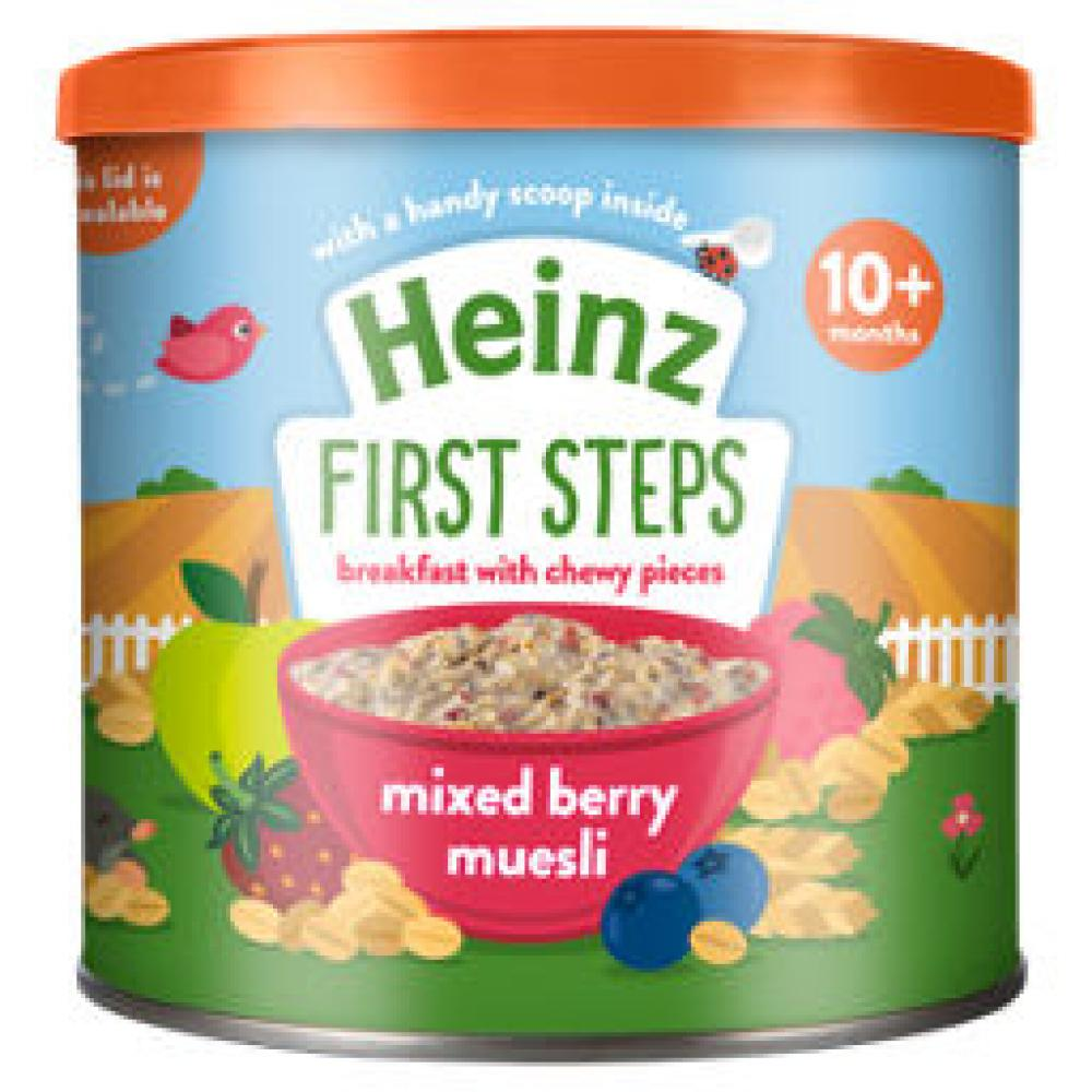 Heinz First Steps Mixed Berry Muesli 260g
