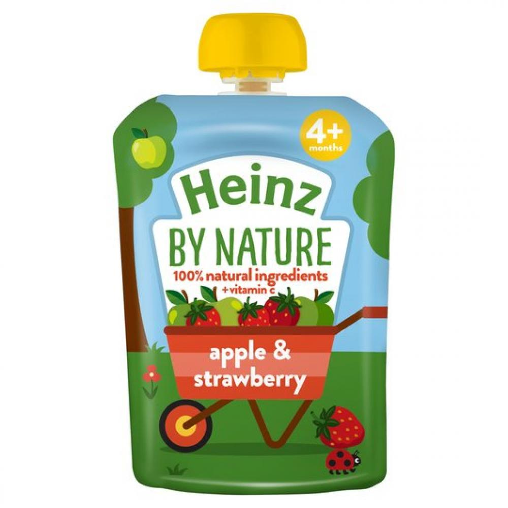 Heinz Infant Apple and Strawberry 100g