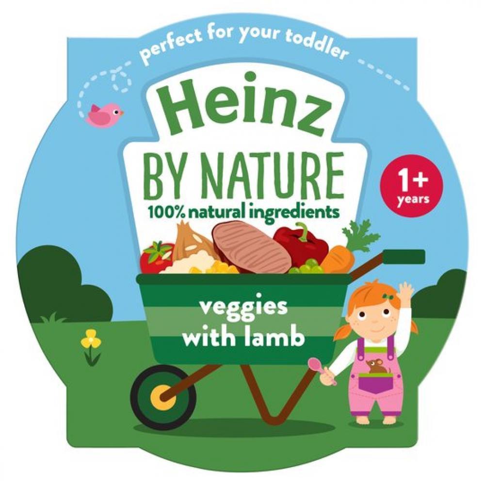 Heinz Infant Veggies with Lamb 230g