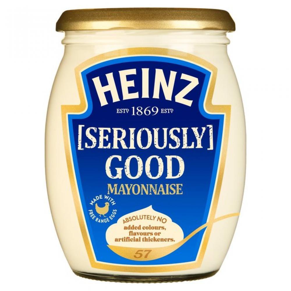 50P SAUCE  Heinz Seriously Good Mayonnaise 480ml