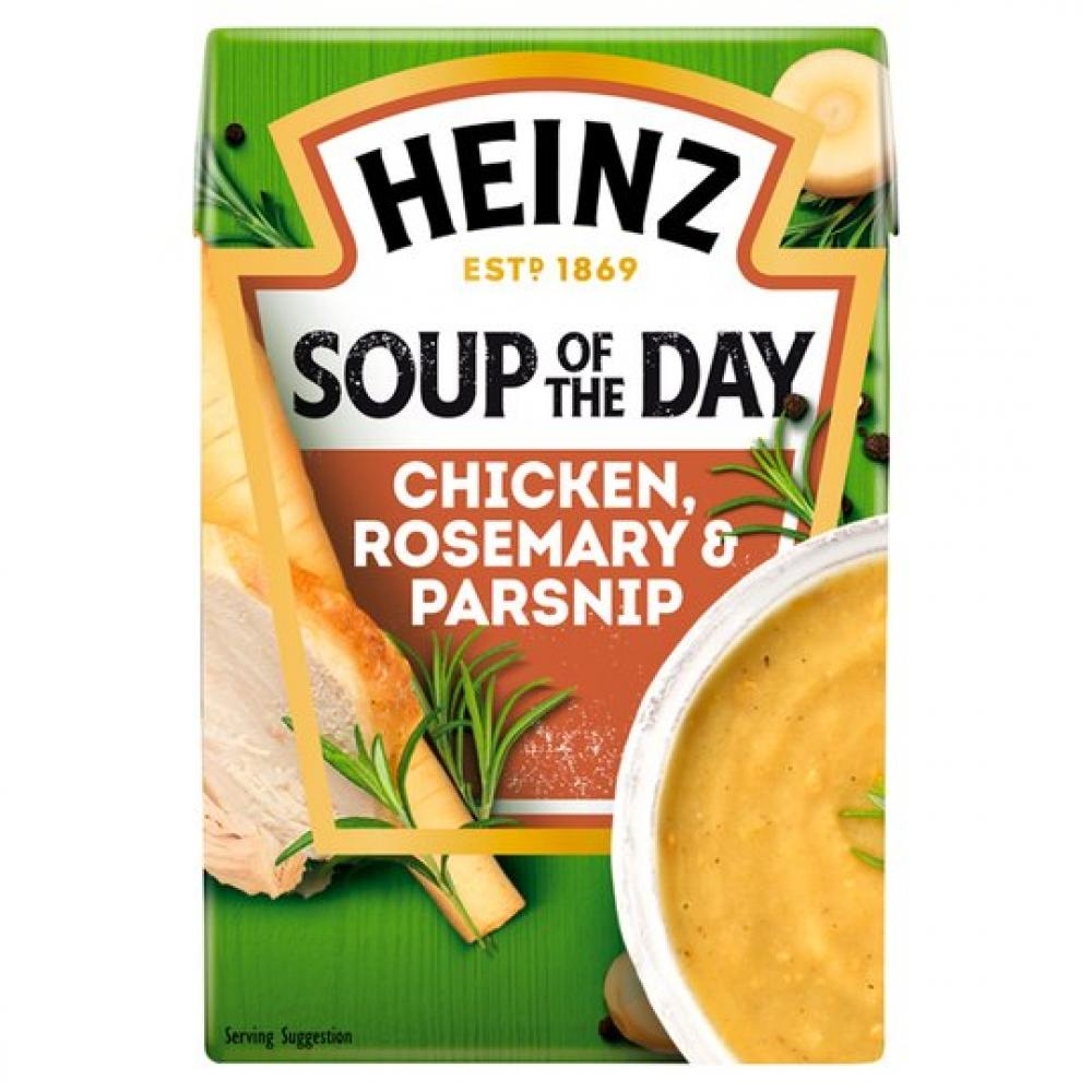Heinz Soup Of The Day Chicken Parsnip and Rosemary 400g