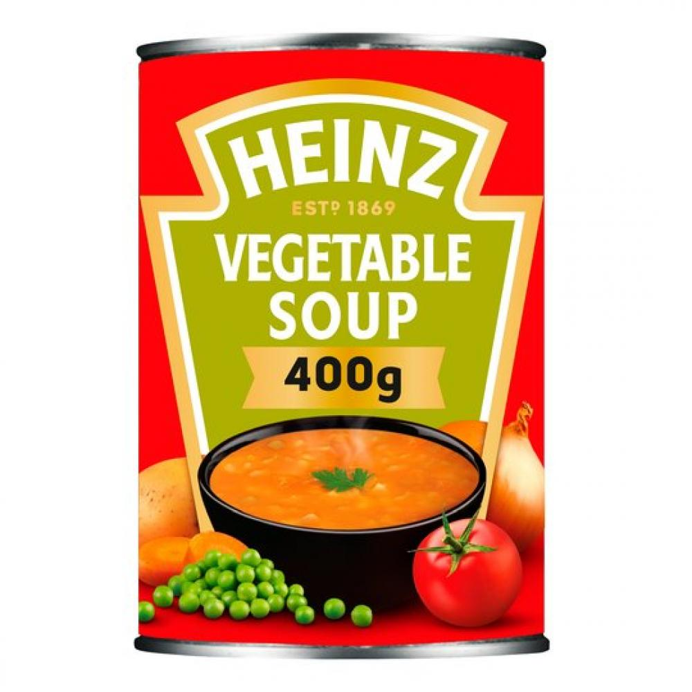 TODAY ONLY  Heinz Vegetable Soup 400g