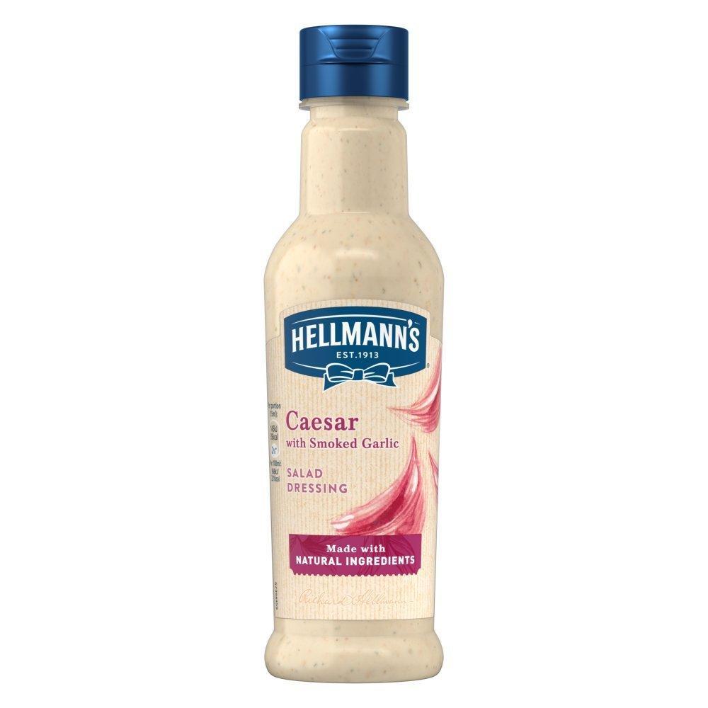 Hellmanns Caesar with Smoked Garlic Salad Dressing 210ml