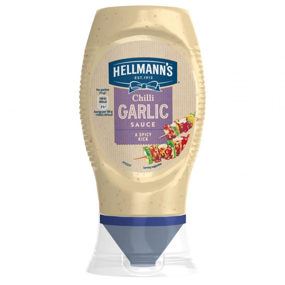 Hellmanns Garlic and Herb Sauce 260g