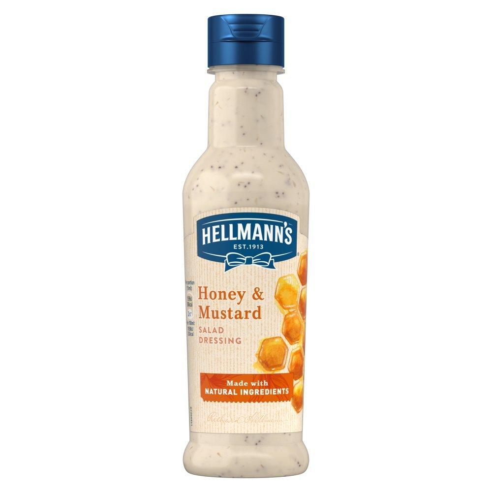Hellmanns Honey and Mustard Salad Dressing 210ml