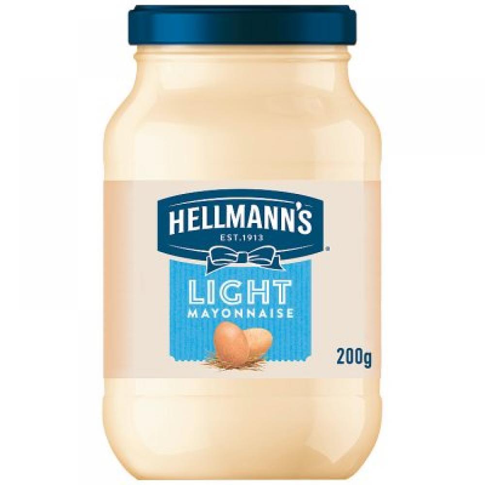 Hellmanns Light Mayonnaise 200g