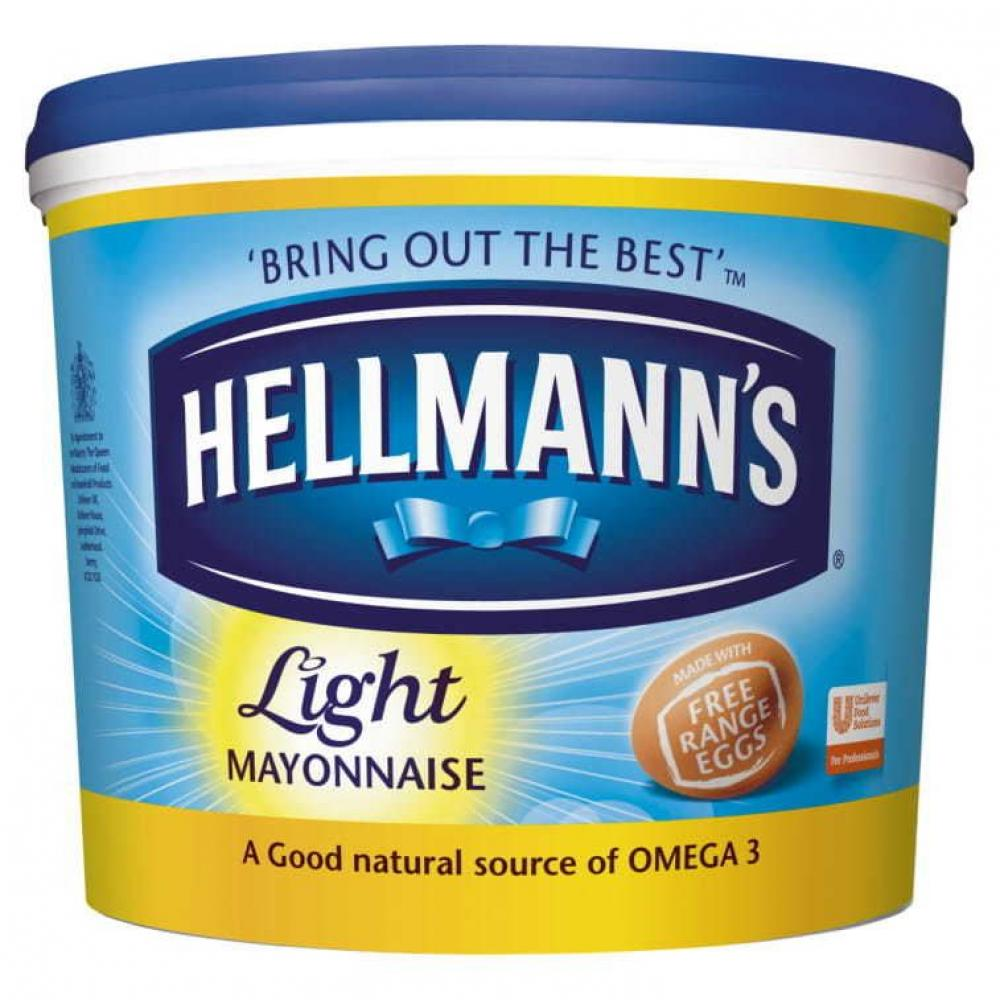 Hellmanns Light Mayonnaise 5L