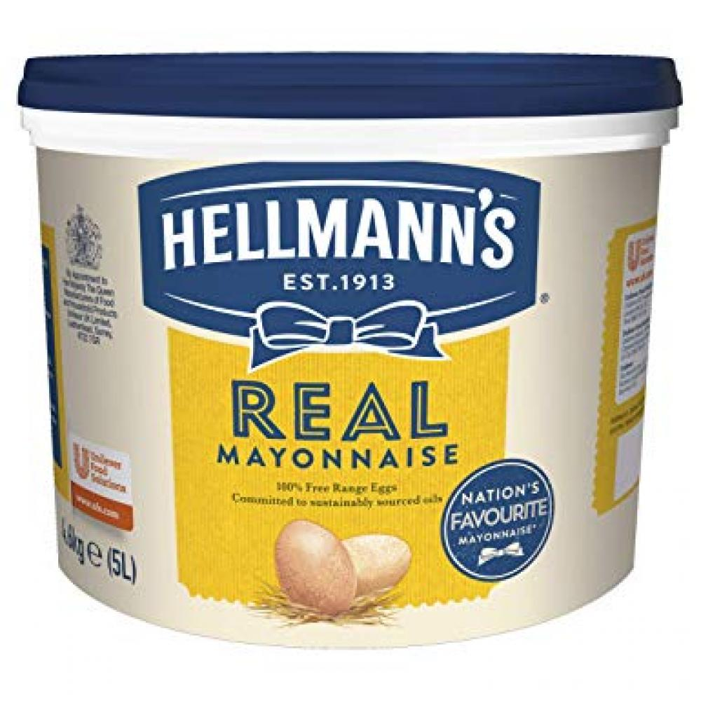 Hellmanns Real Mayonnaise 5L