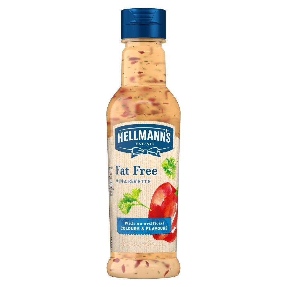 Hellmanns Salad Dressing Fat Free Vinaigrette 210ml
