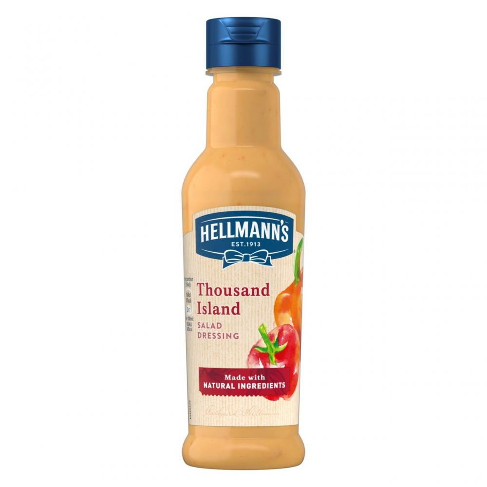 Hellmanns Thousand Island Salad Dressing 210ml