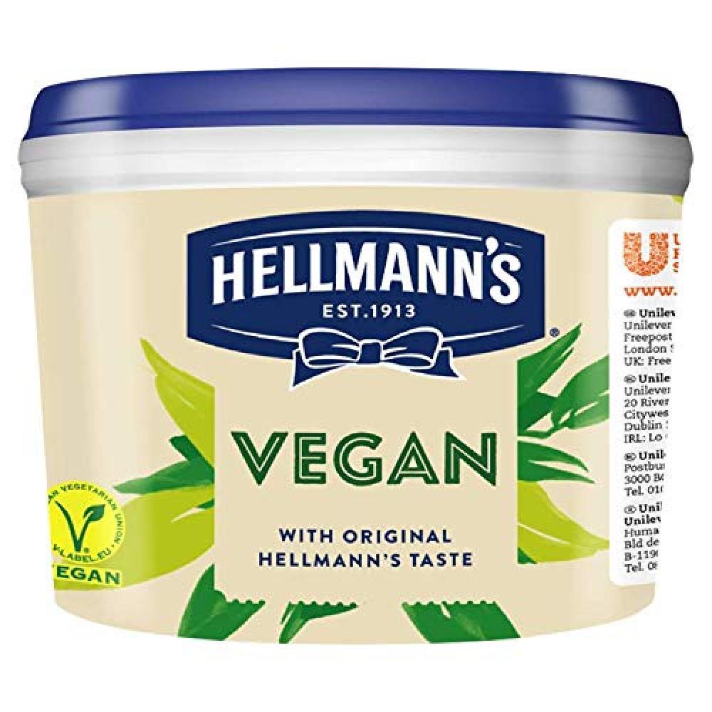 SALE  Hellmanns Vegan Mayonnaise 2.5kg
